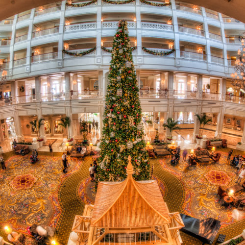 Grand Floridian Lobby Fisheye
