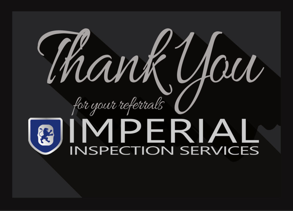 Imperial Inspection Thank You card