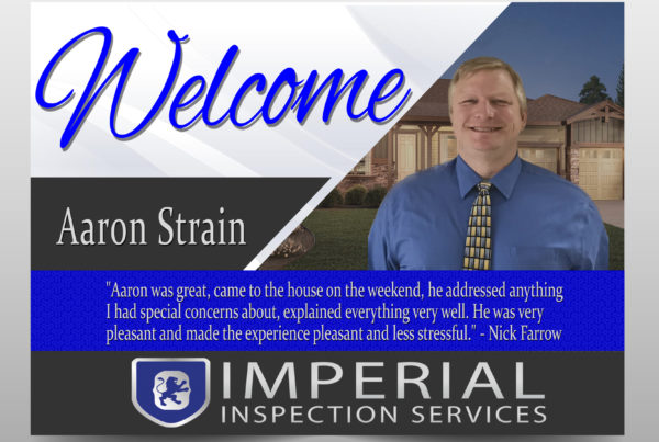 Imperial Inspection welcome card. By Graphic Design Company, Rhonda Cosgriff Designs