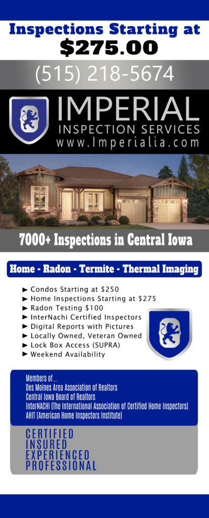 Imperial Inspection Service Designed by Rhonda Cosgriff Designs