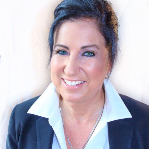 Professional headshot by Rhonda Cosgriff Designs