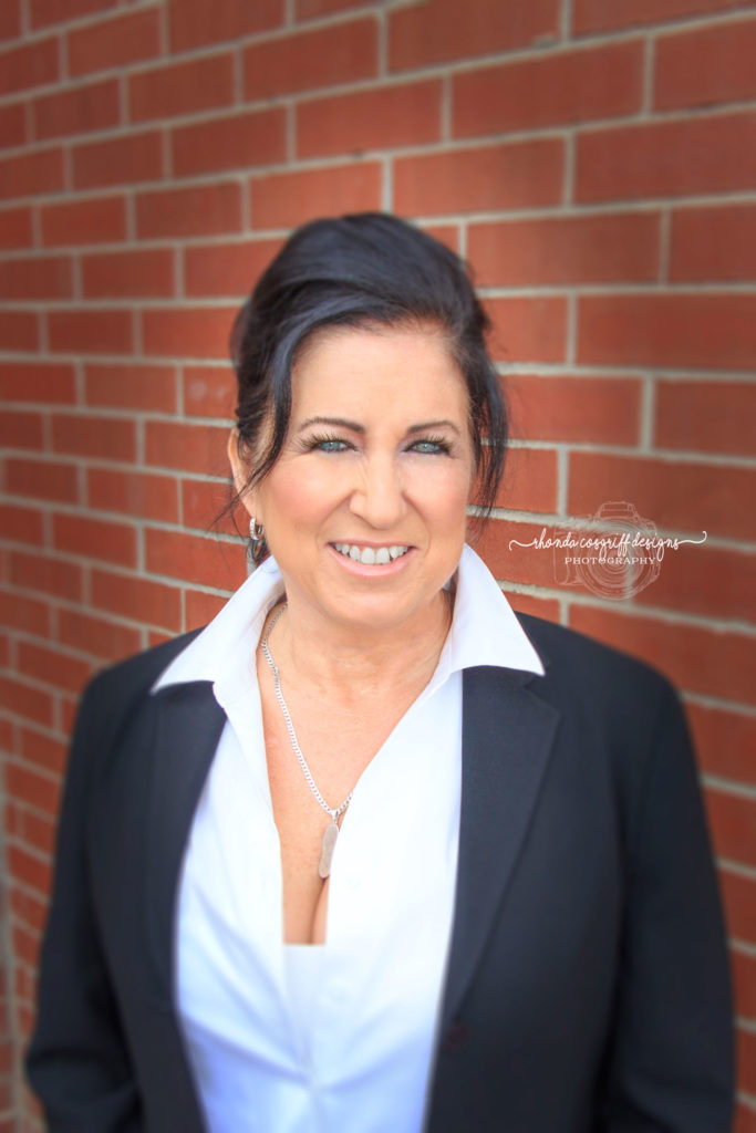 Corporate headshot by RHonda Cosgriff Designs