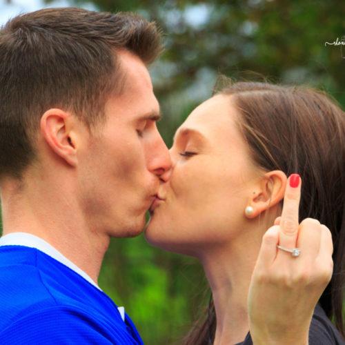 Rhonda Cosgriff Designs Engagement Announcement Shoot