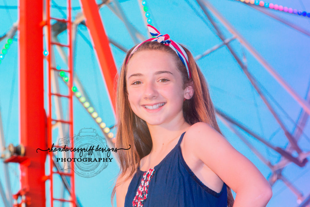 Portrait at the carnival by Rhonda Cosgriff Designs