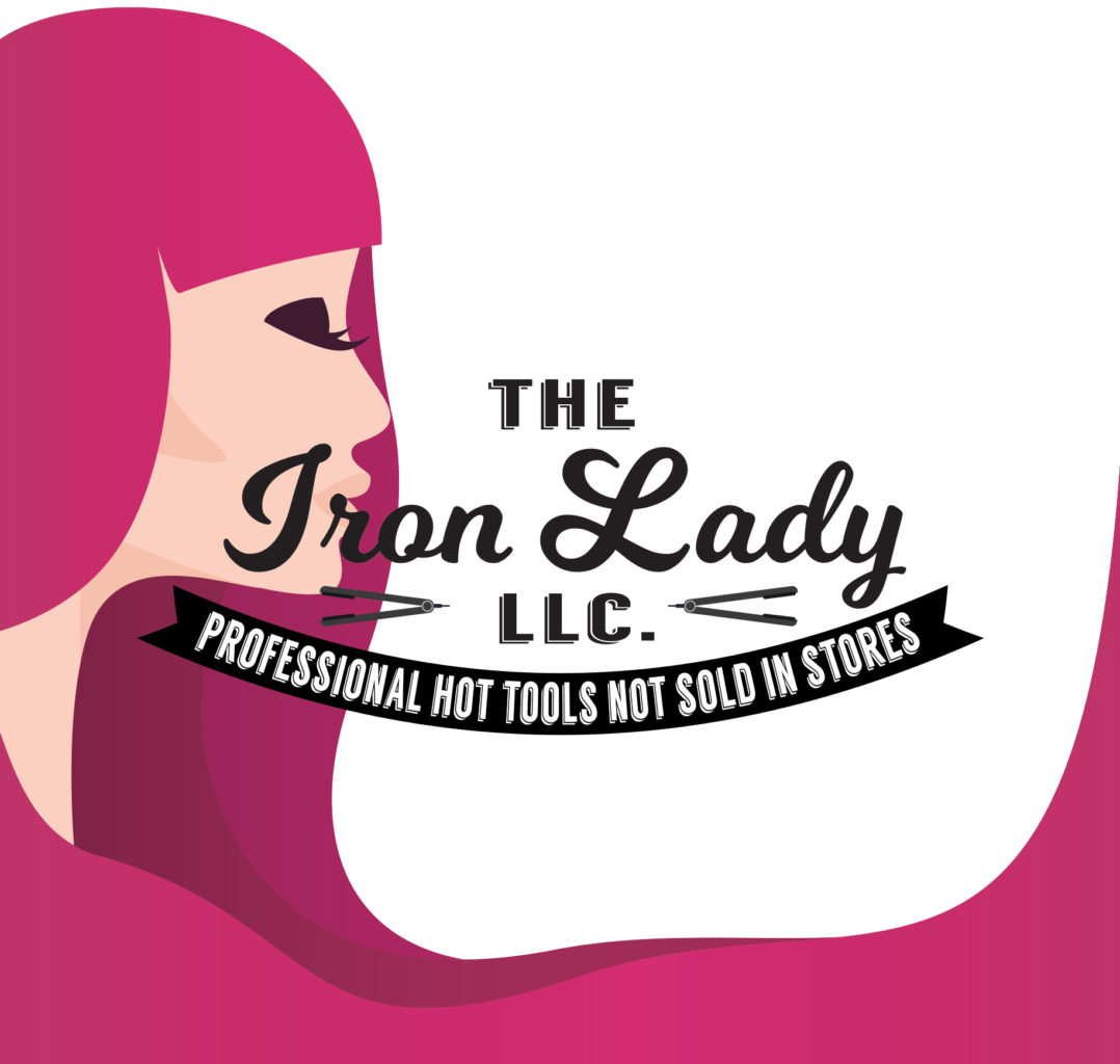 Logo rebranding for The Iron Lady by Rhonda Cosgriff Designs, Minneapolis, Minnesota