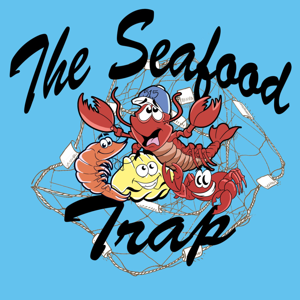Graphic Design for The Seafood Trap