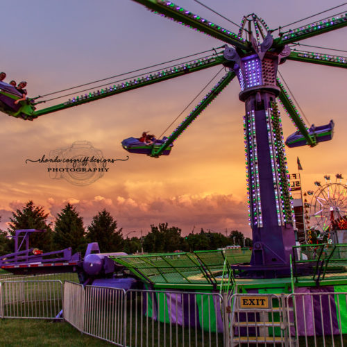 Sunset carnival by Rhonda Cosgriff Designs