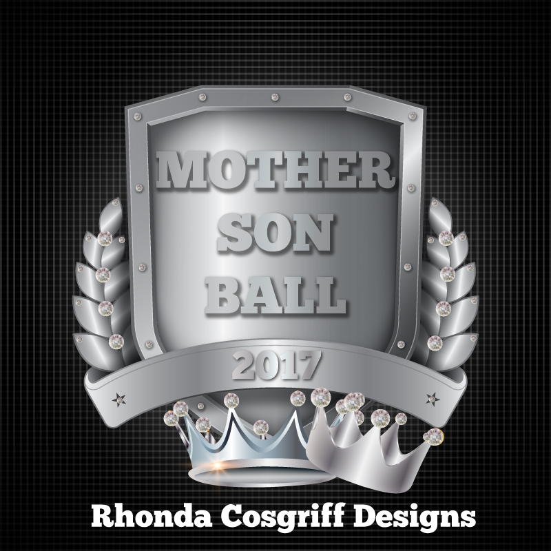 Mother Son Ball logo graphic design
