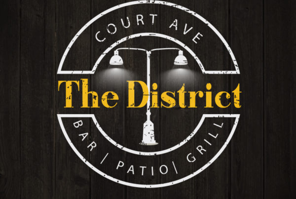 The District logo graphic design